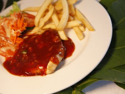 Chicken Breast With Bbq Sauce